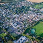 Haddington from above